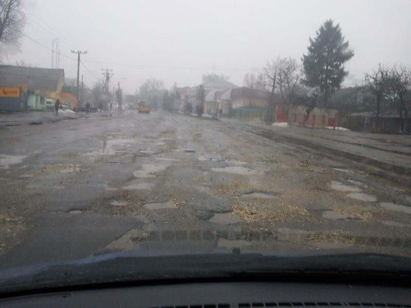 Дорога в Хмельницкий